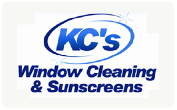 KC's Window Cleaning & Sunscreens logo